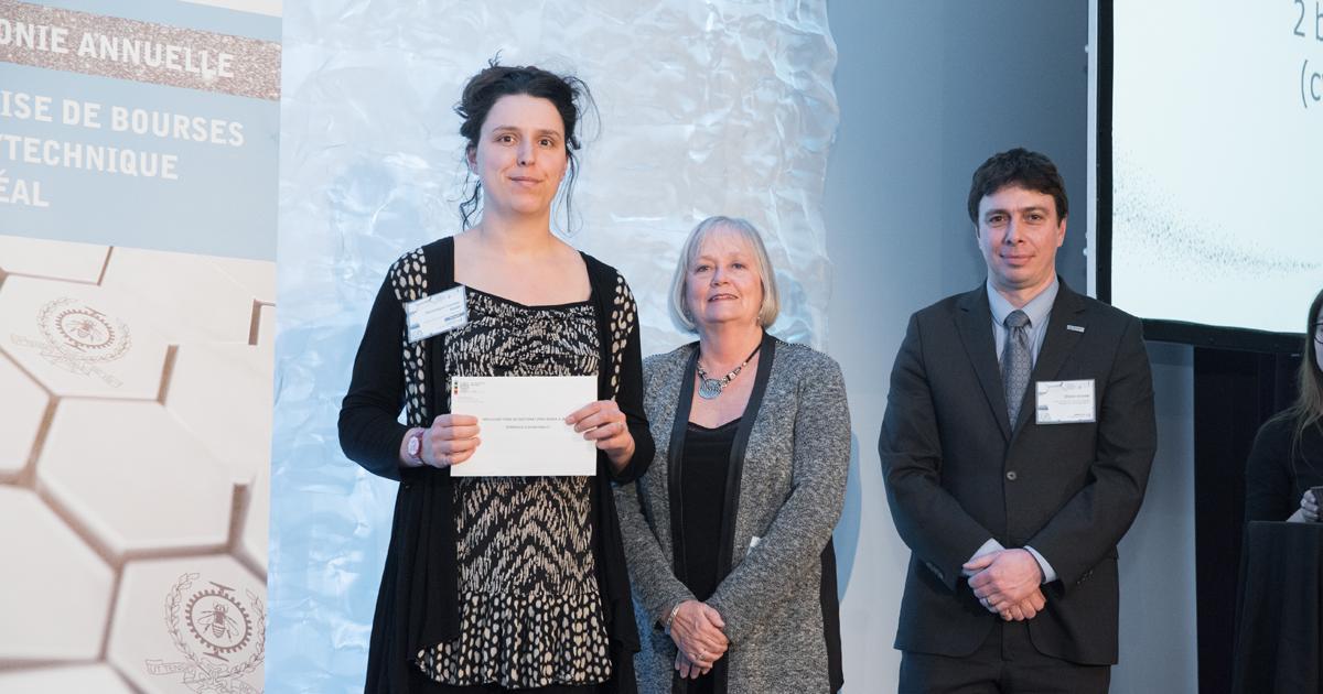 Dominique Claveau-Mallet, Michèle Blais-Chauvin et OIivier Grenier
