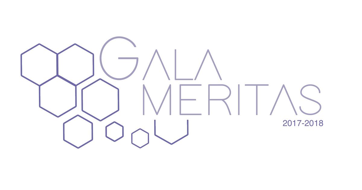 Logo du Gala Méritas 2017-2018 des associations étudiantes de Polytechnique Montréal