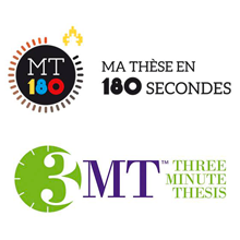 Charles Bruel et Kurt Ebeling remportent les premiers prix des finales internes des concours « Ma thèse en 180 secondes » et « Three Minute Thesis » à Polytechnique Montréal