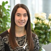Ella Thomson, récipiendaire de l'Ordre de la rose blanche 2017.