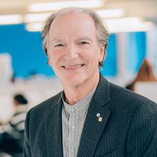 Pierre Lassonde, président du conseil d'administration de Polytechnique Montréal. (Photo : Caroline Perron photographie)