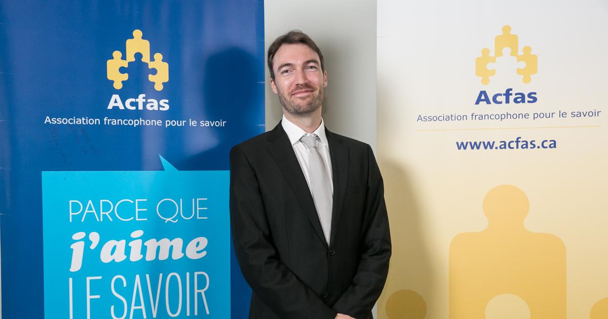 Jean-Baptiste Burnet, stagiaire postdoctoral au Département des génies civil, géologique et des mines de Polytechnique Montréal.
