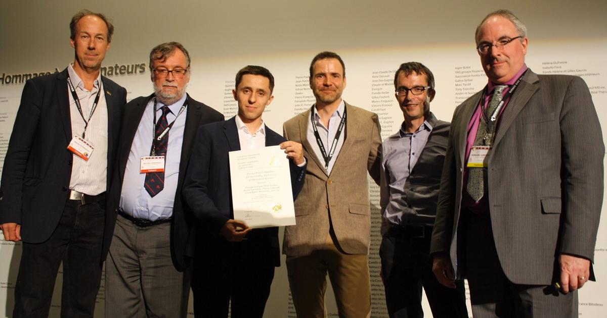 Mikaël Ronnqvist, Michel Gendreau, Philippe Grangier, Louis-Martin Rousseau, Fabien Lehuédé et Bernard Gendron.