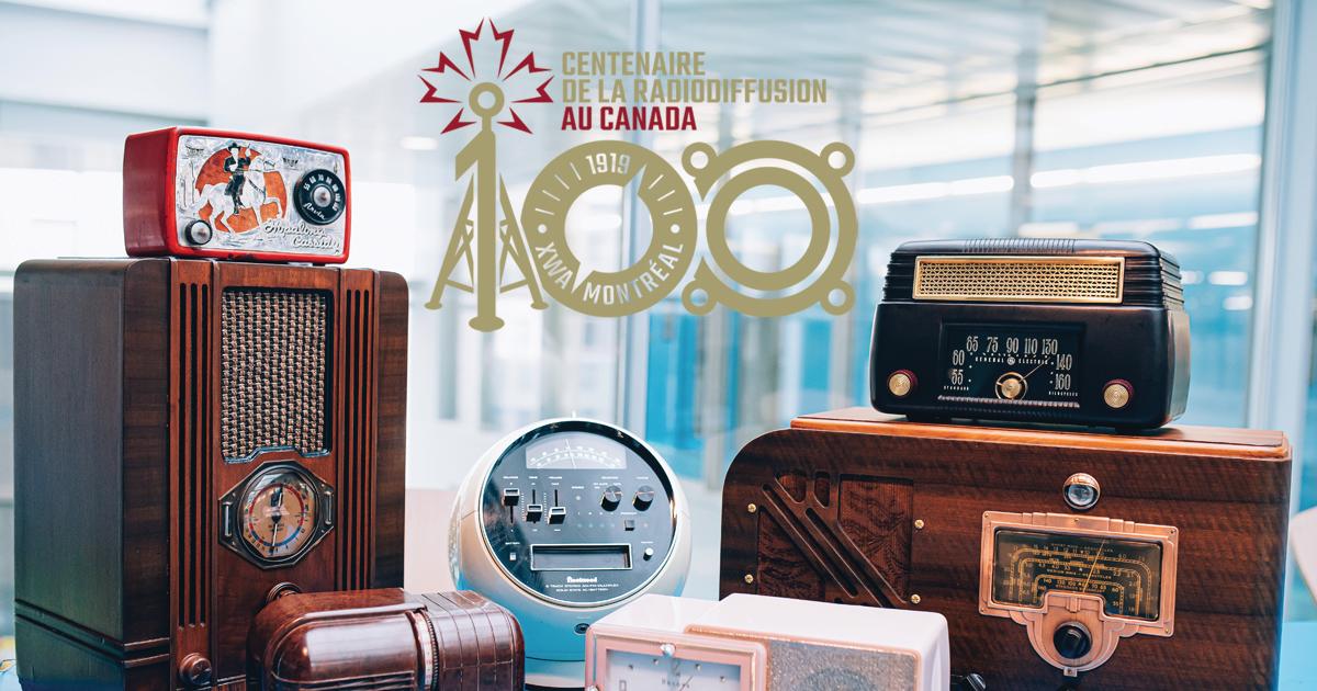 Des radios anciens présentés une exposition temporaire à Polytechnique Montréal. (Photo : Caroline Perron photographies)