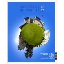 Page de couverture du Rapport de durabilité 2016-2017