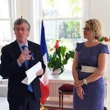 Gilles Savard et Laurence Haguenauer