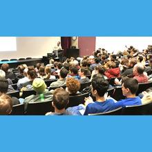 Compétition internationale de robotique FIRST 2019 : dévoilement du défi à Polytechnique Montréal