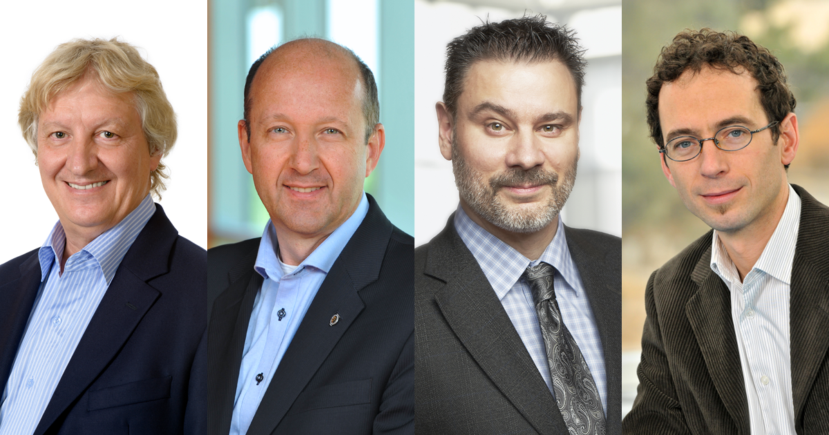 Réjean Samson, Robert Legros, Jean-Marc Frayret, Manuele Margni