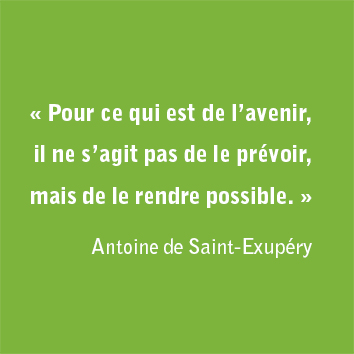 Citation de Saint-Exupéry