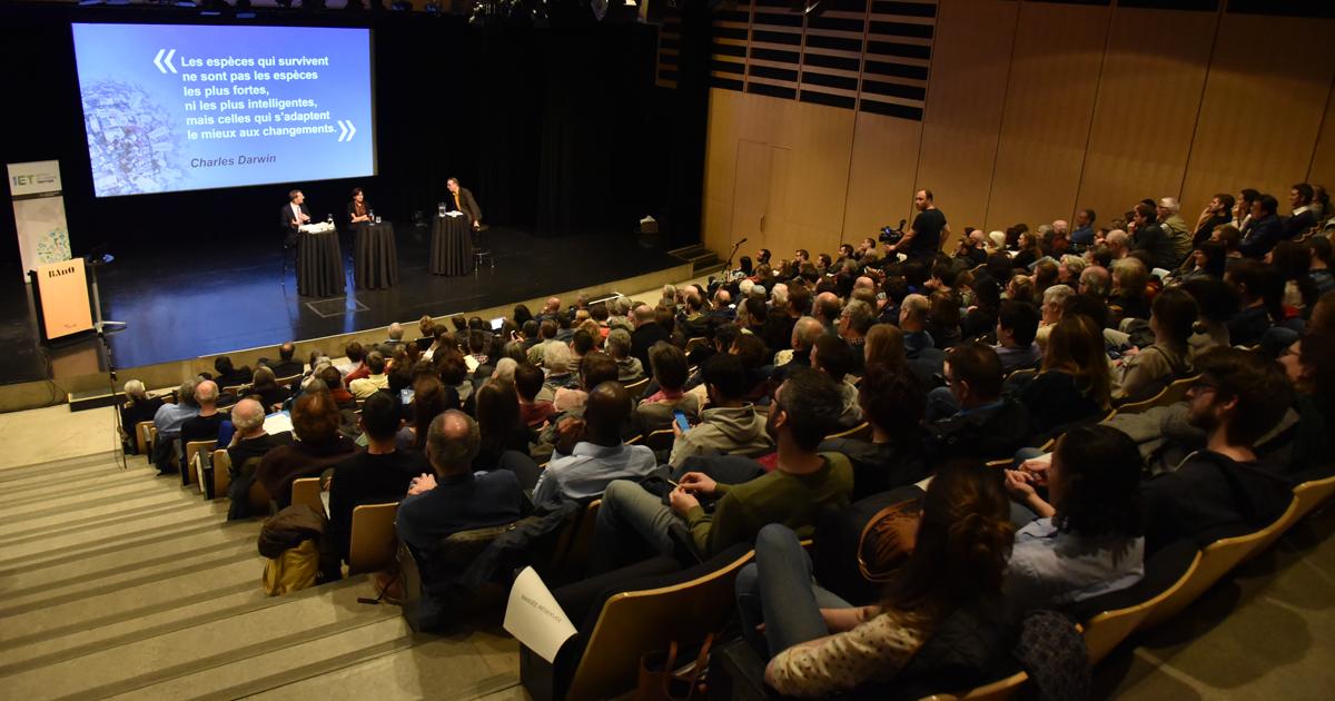 Le 6e Symposium annuel Trottier, organisé par l'Institut de l'énergie Trottier de Polytechnique Montréal, a eu lieu le 17 avril 2019 à la Grande Bibliothèque.