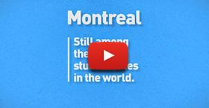 Vidéo du classement QS Best Student Cities 2018 en anglais