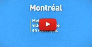 Capture d'écran de la vidéo portant sur la position de Polytechnique Montréal au classement QS Best Student Cities 2018