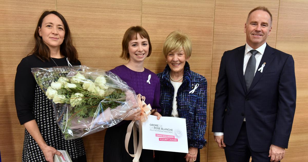 Nathalie Provost, Viviane Aubin, Michèle Thibodeau-DeGuire, François Bertrand