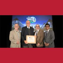 Le professeur Michel Aubertin reçoit la médaille R.F. Legget 2018 de la Société canadienne de géotechnique