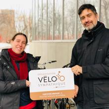 Polytechnique Montréal certifiée bronze par le mouvement VÉLOSYMPATHIQUE de Vélo Québec