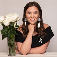 Brielle Chanae Thorsen, sixième lauréate de l'Ordre de la rose blanche