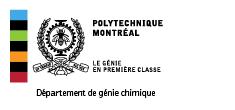 Département de génie chimique