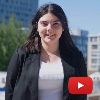 Témoignage de Neda Saiah, accompagnatrice dans le cadre du programme AVEC - Accompagnement Volontaire des nouveaux Étudiants de génie Chimique. Neda est étudiante au baccalauréat de génie chimique à Polytechnique Montréal.