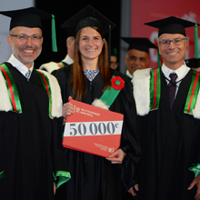 Collation des grades 2019: Polytechnique remet plus de 1600 diplômes, dont le 50000e de son histoire