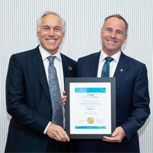 Professor François Bertrand receives honours