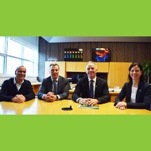Signature d'une entente entre Polytechnique Montréal et le Collège André-Grasset