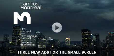 Three new ads for the small screen