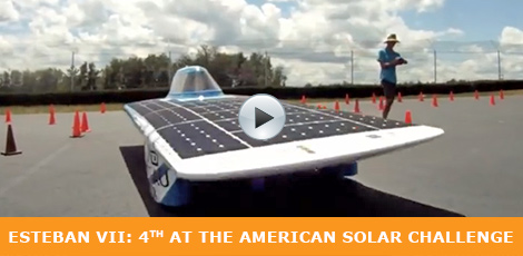 Esteban VII: 4th at the American Solar Challenge