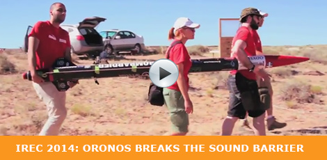 IREC 2014: Oronos breaks the sound barrier