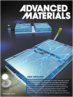 Water-Enabled Healing of Conducting Polymer Films