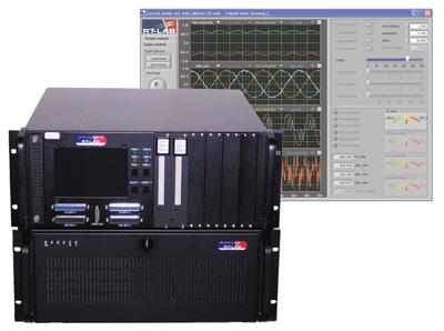 Une armoire de simulation et de commande en temps réel Opal-RT