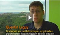 Quentin Lequy, Doctorant, en mathématiques appliquées