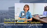 Shadi Sharifazadeh, Doctorante, mathématiques appliquées