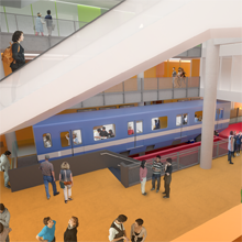 Station Polytechnique-Alstom: a métro car dedicated to enhancing students' mental health and wellness