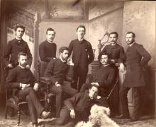 La promotion de 1888 de l'École Polytechnique