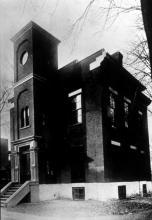L'immeuble qui a abrité l'École Polytechnique de 1875 à 1904