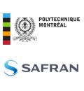 Logos de Polytechnique Montréal et Safran