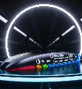 Représentation du concept de capsule Hyperloop de la société technique PolyLoop.