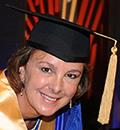 Isabelle Courville, récipiendaire d'un doctorat honoris causa lors de la collation des grades 2017 de Polytechnique Montréal.