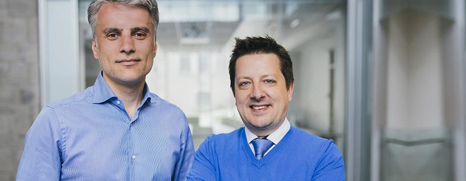 Kevin Petrecca et Frédéric Leblond