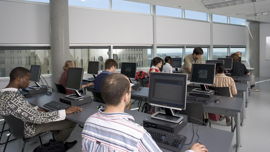 Comptoir de service des laboratoires informatiques