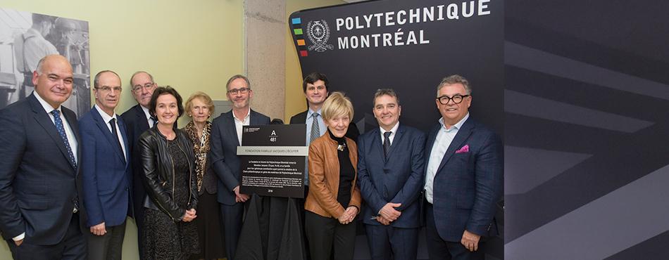 Création de la Chaire philanthropique en génie des matériaux à Polytechnique Montréal grâce au don exceptionnel de la Fondation Famille Jacques L'Écuyer