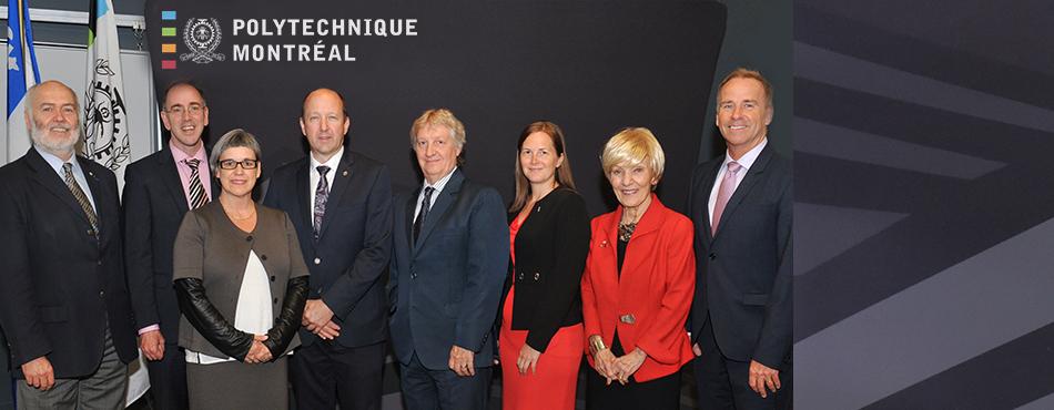 Inauguration de la Chaire de recherche sur la valorisation des matières résiduelles de Polytechnique Montréal