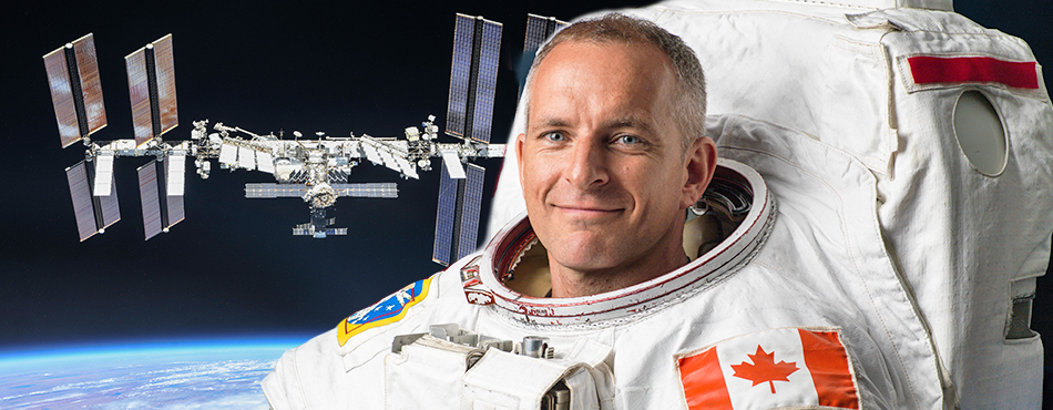 épinglette, David Saint-Jacques, station spatiale internationale