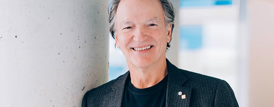 Pierre Lassonde, président du conseil d'administration de Polytechnique Montréal. (Photo : Caroline Perron photographies)