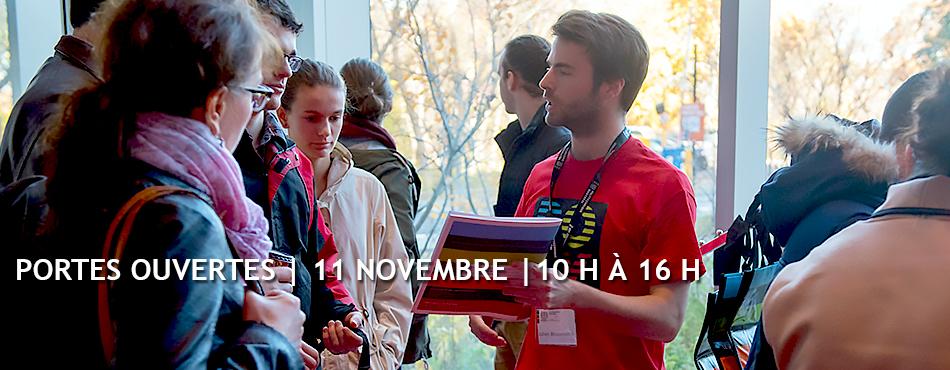 Portes ouvertes 2018 à Polytechnique Montréal - 11 novembre 2018 - 10 h à 16 h