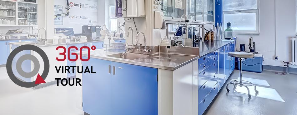 Virtual tour of the Centre for Research, Development and Validation of Technologies and Processes in Water Treatment (Centre de recherche, développement et validation des technologies et procédés de traitement des eaux (CREDEAU))
