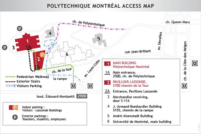 Campus Map Renseignements Generaux