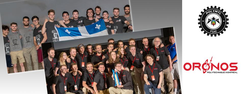 Formule Polytechnique Montréal et Oronos Polytechnique