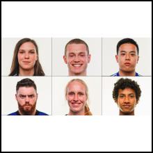 Six étudiantes et étudiants athlètes de Polytechnique récompensés au Gala Méritas de la saison 2019-2020 des Carabins