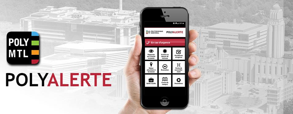 Application mobile PolyAlerte